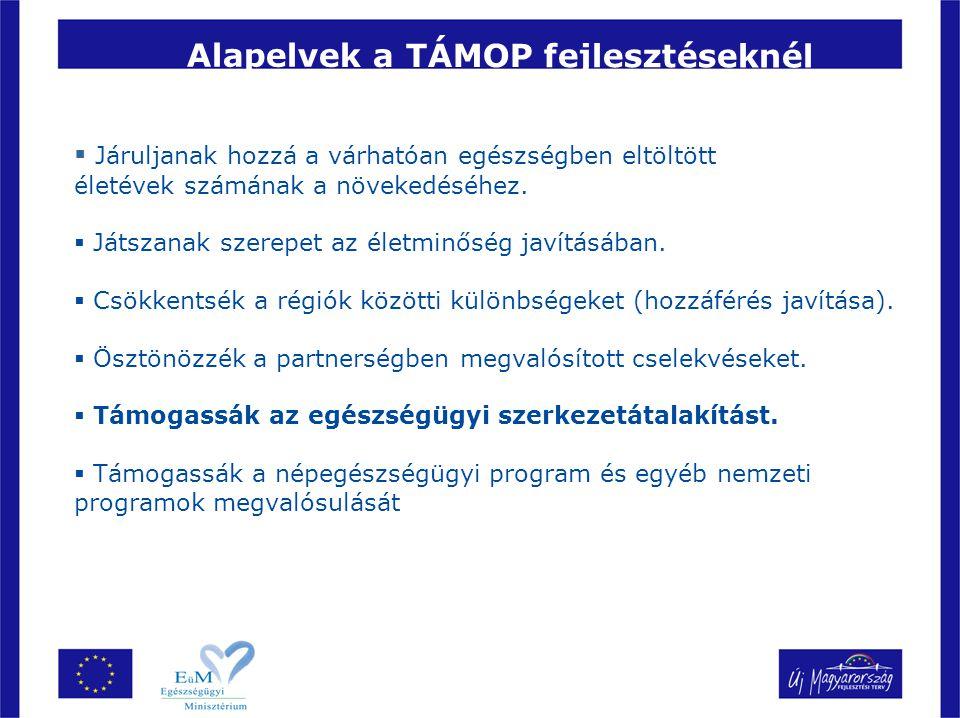 8 Megfelelő minőségű, megbízható monitoring adatok az ágazati humán erőforrások alakulásáról – TAMOP 6.2.1.