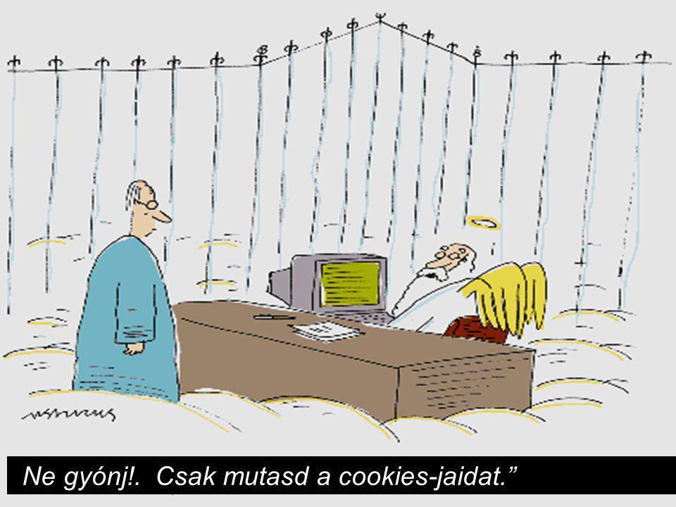 """""""Ne gyónj!. Csak mutasd a cookies-jaidat."""""""