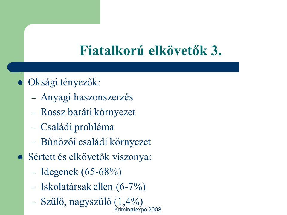 Kriminálexpó 2008 Fiatalkorú elkövetők 3.