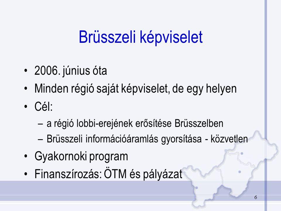 6 Brüsszeli képviselet 2006.