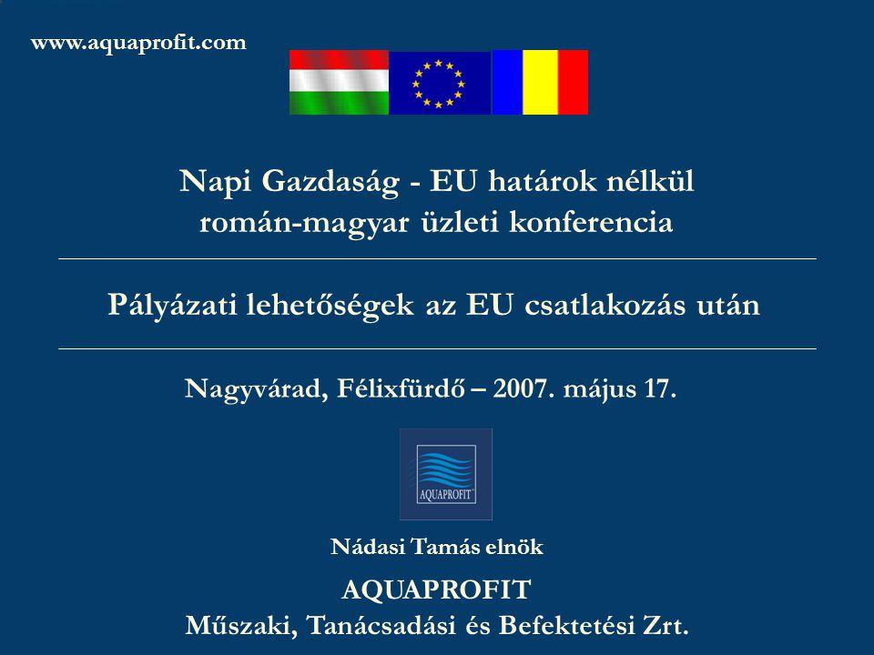 www.aquaprofit.com AQUAPROFIT Zrt.