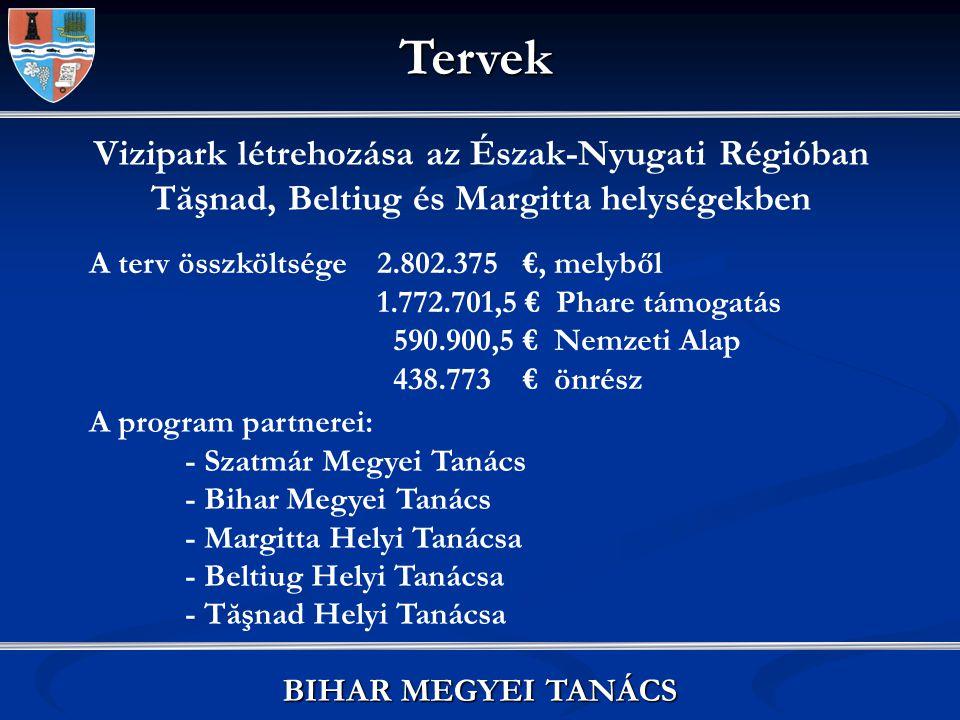 Főhálózat és hőközpontok modernizációja: 4.516.982,62 € Mellékhálózatok modernizációja: 1.469.144 € Vízhálózat bővítése, szennyvízhálózat modernizációja: 10.200.920 €, melyből 85 %-a Kohéziós Alapból, 13 %-a Kormánytámogatásból, 2 %-a önrészből valósul meg Félix fürdő hőenergia- hálózatának infrastruktúrájának modernizációs terve Tervek