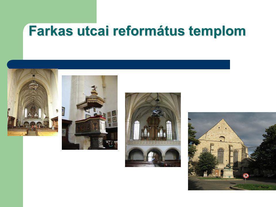 Farkas utcai református templom