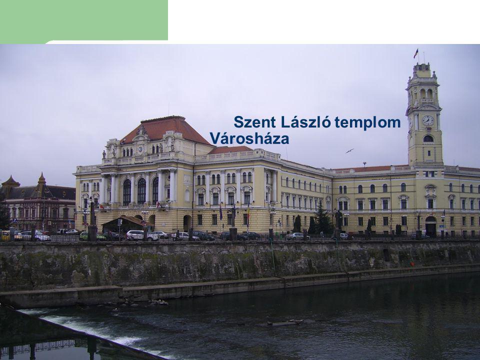 Városháza Szent László templom