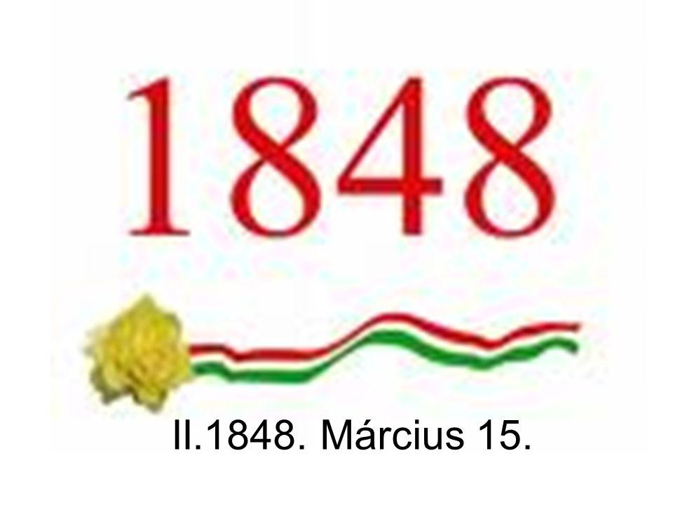 II.1848. Március 15.