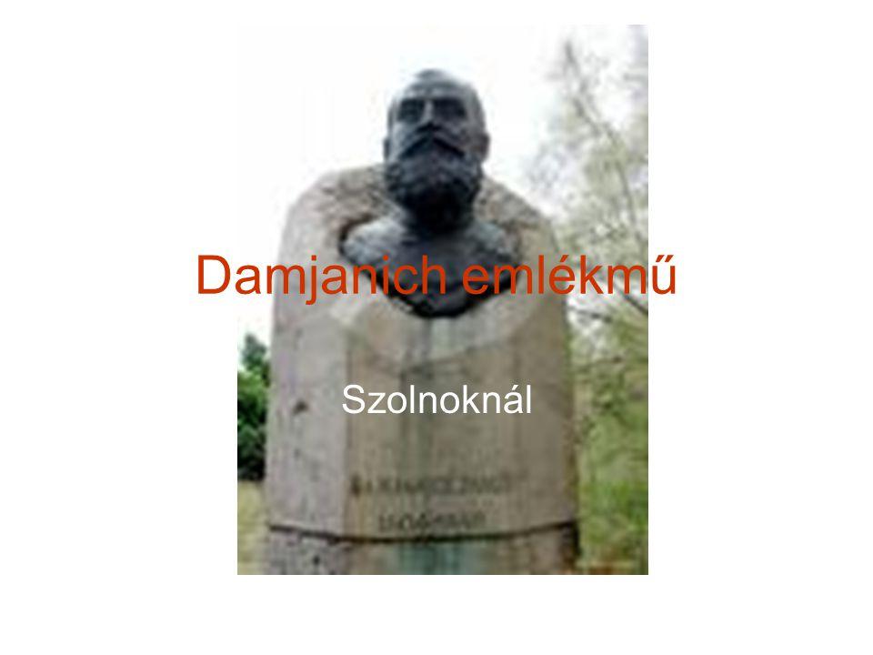 Damjanich emlékmű Szolnoknál