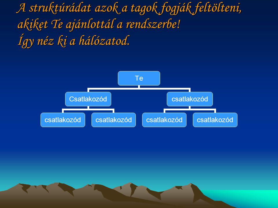 Pénzkereset… Automatika tölti fel az üresen maradt pozíciókat a legrégebbi nem teljes mátrixtól fentről lefelé.