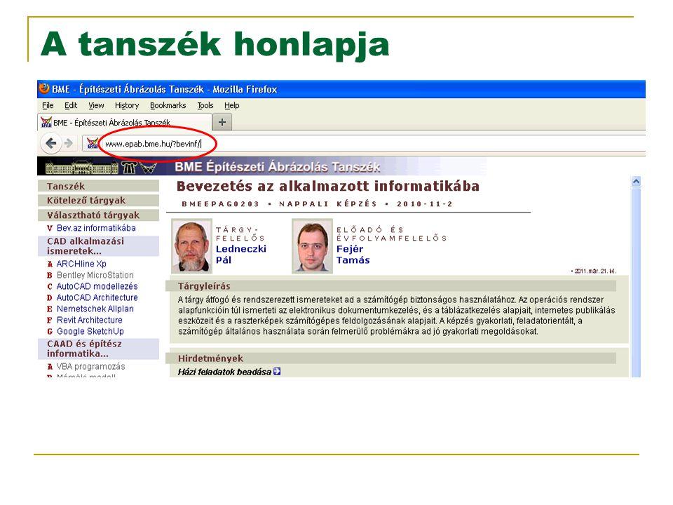Copyright ©BME Építészmérnöki Kar Építészeti Ábrázolás Tanszék (Fejér Tamás, 2005  2009).