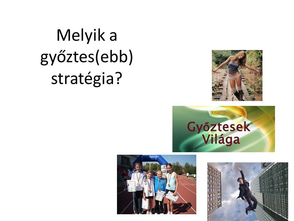 Melyik a győztes(ebb) stratégia