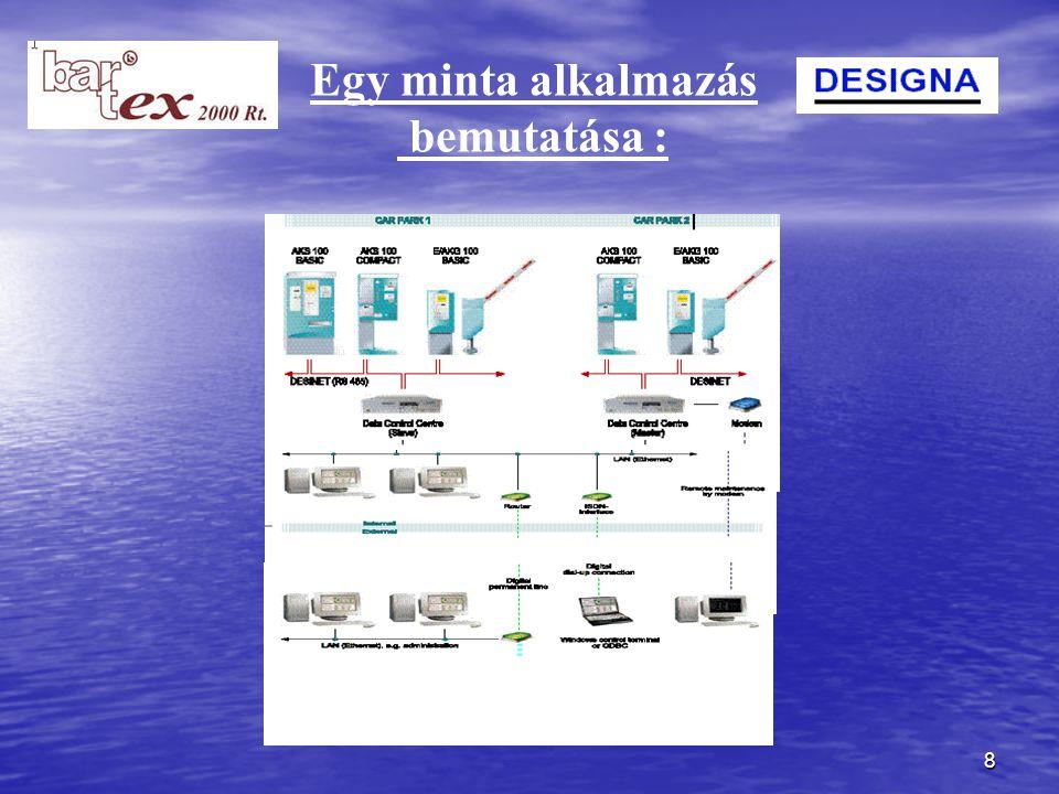 9 A parkoló rendszer üzemeltetése: automatikus felügyelettel (BFR), felhasználó-barát módon, a már jól ismert mágneskártyás, érintésmentes rendszerekkel könnyen integrálható.