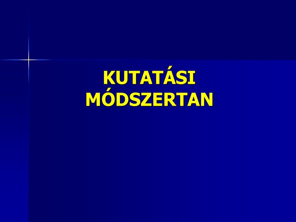 KUTATÁSI MÓDSZERTAN