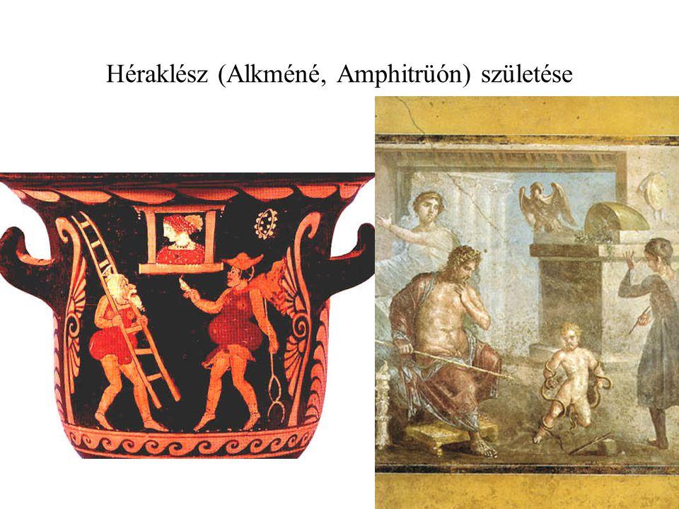 Héraklész (Alkméné, Amphitrüón) születése