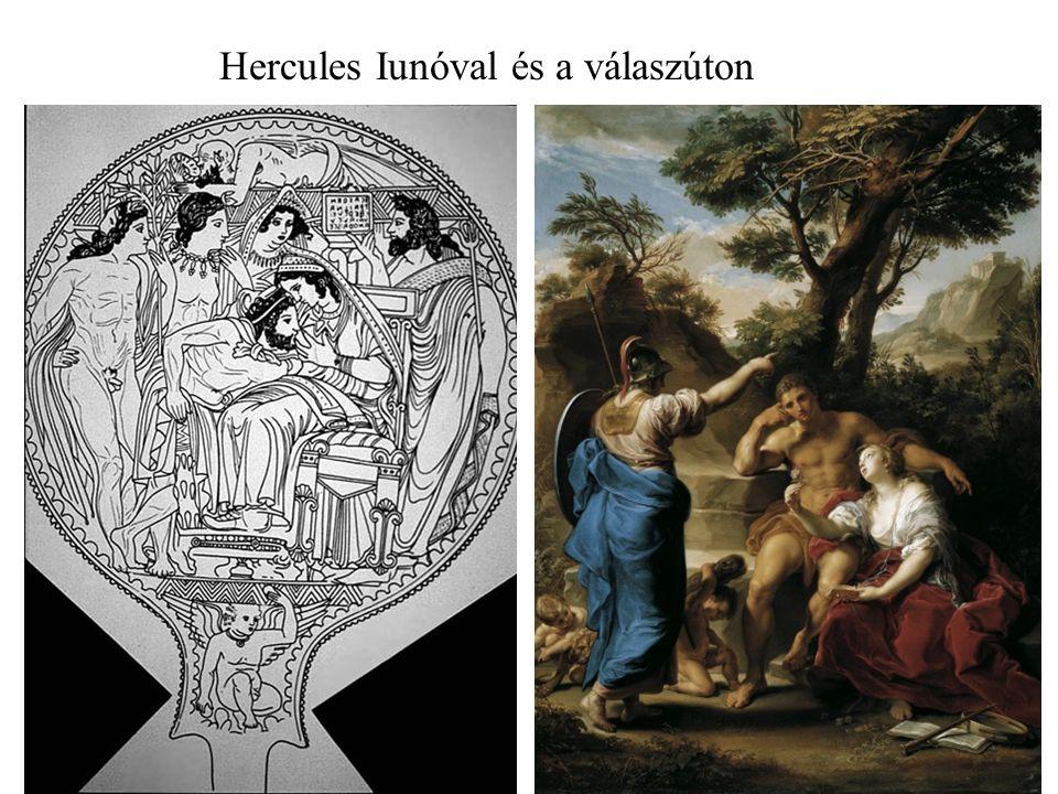 Hercules Iunóval és a válaszúton