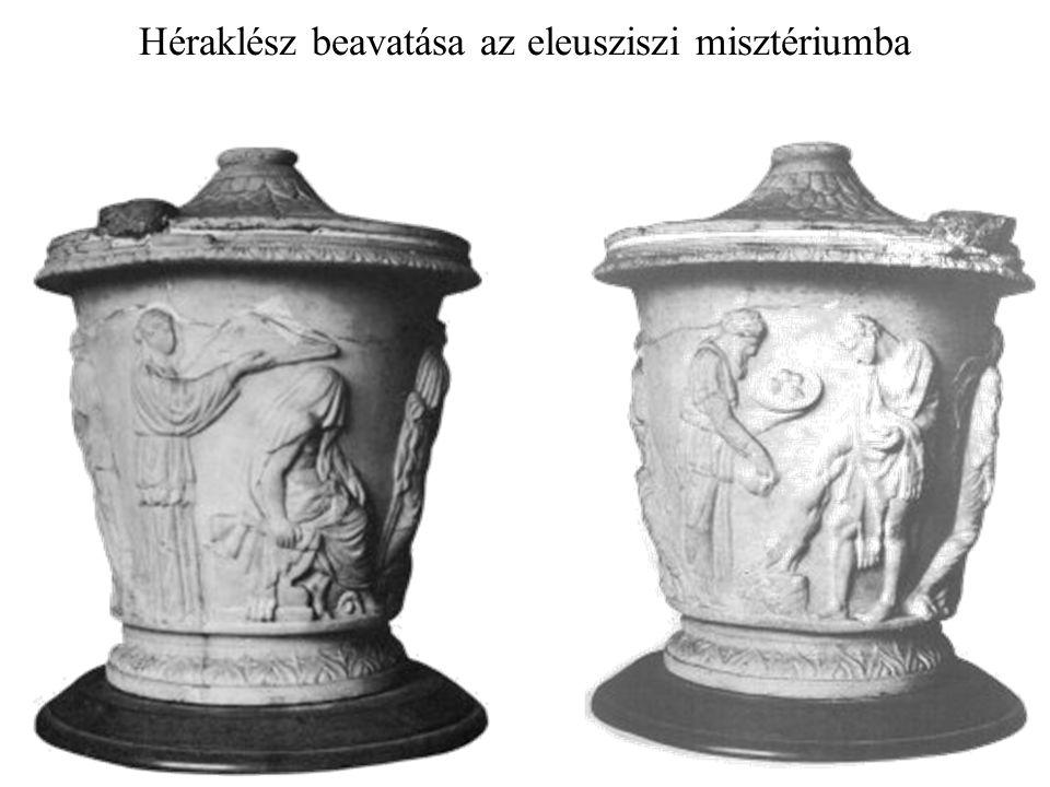 Héraklész beavatása az eleusziszi misztériumba