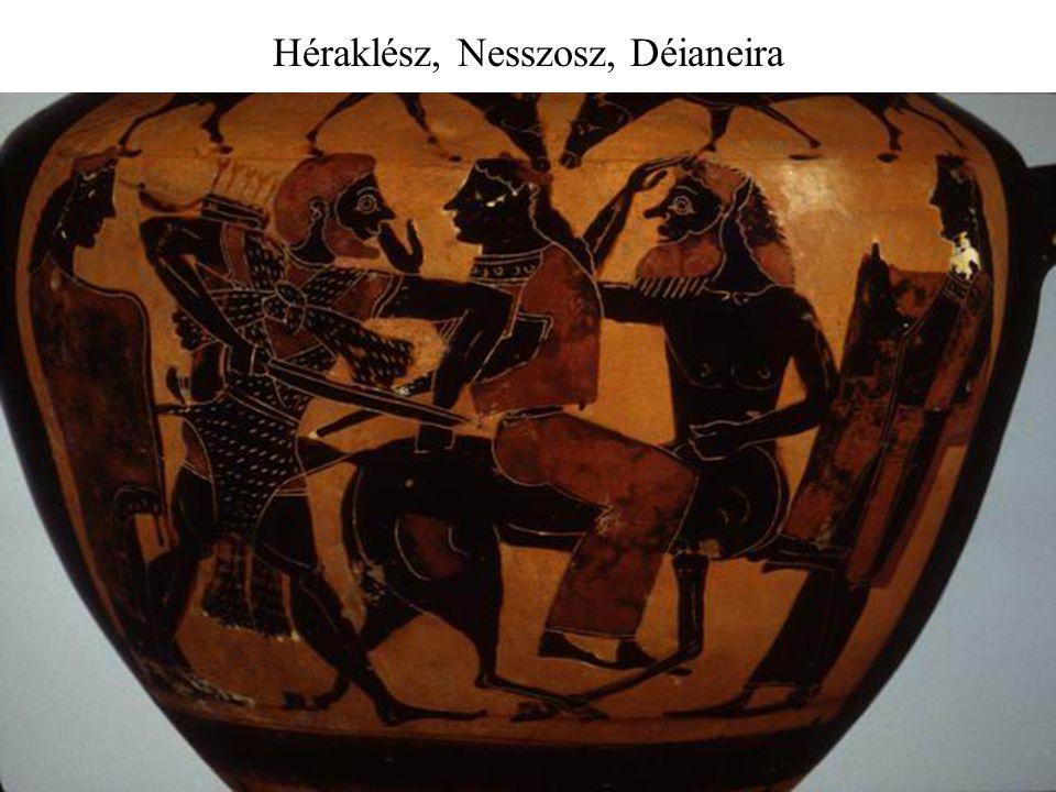 Héraklész, Nesszosz, Déianeira