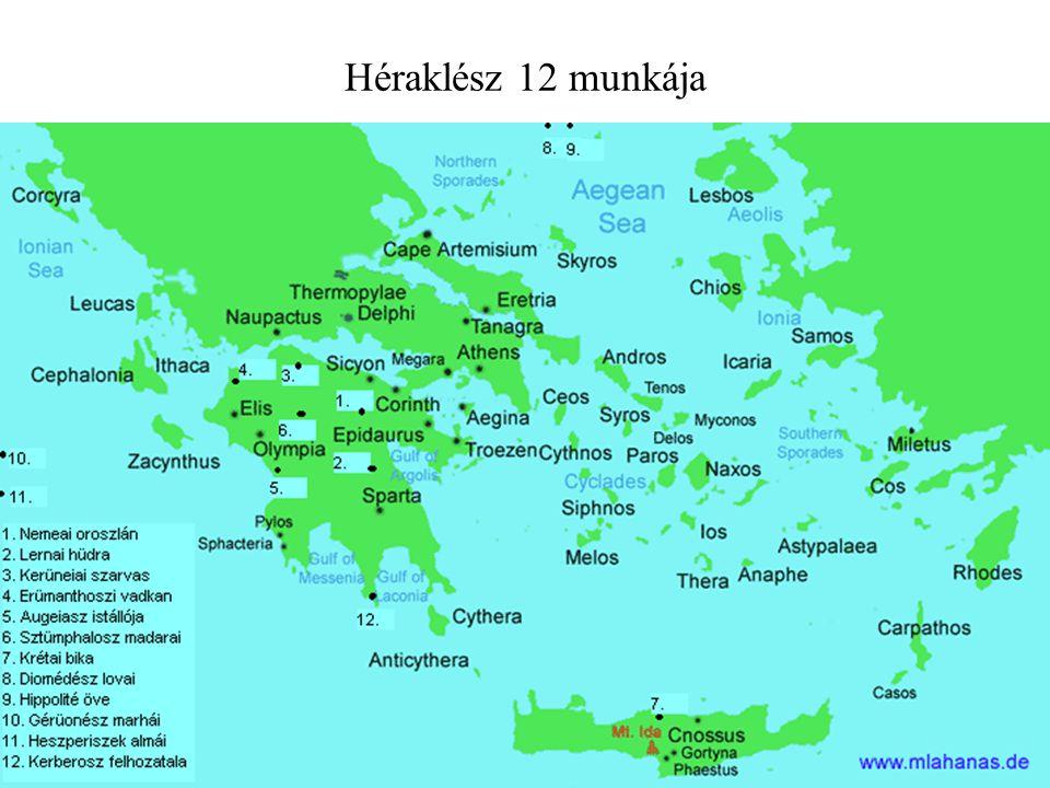 Héraklész 12 munkája