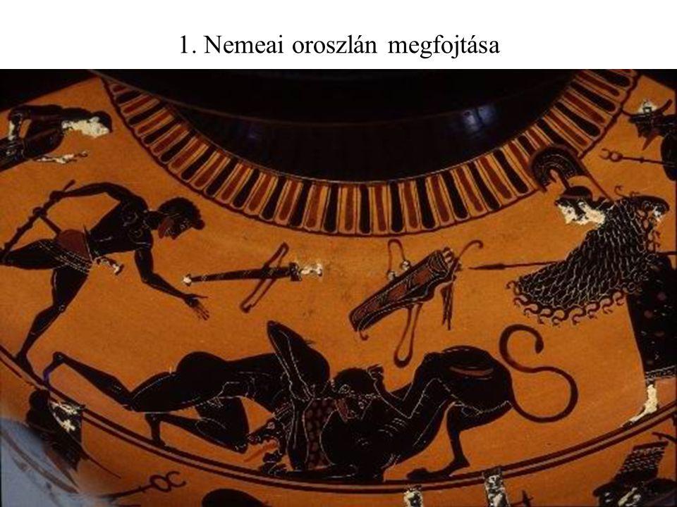 1. Nemeai oroszlán megfojtása
