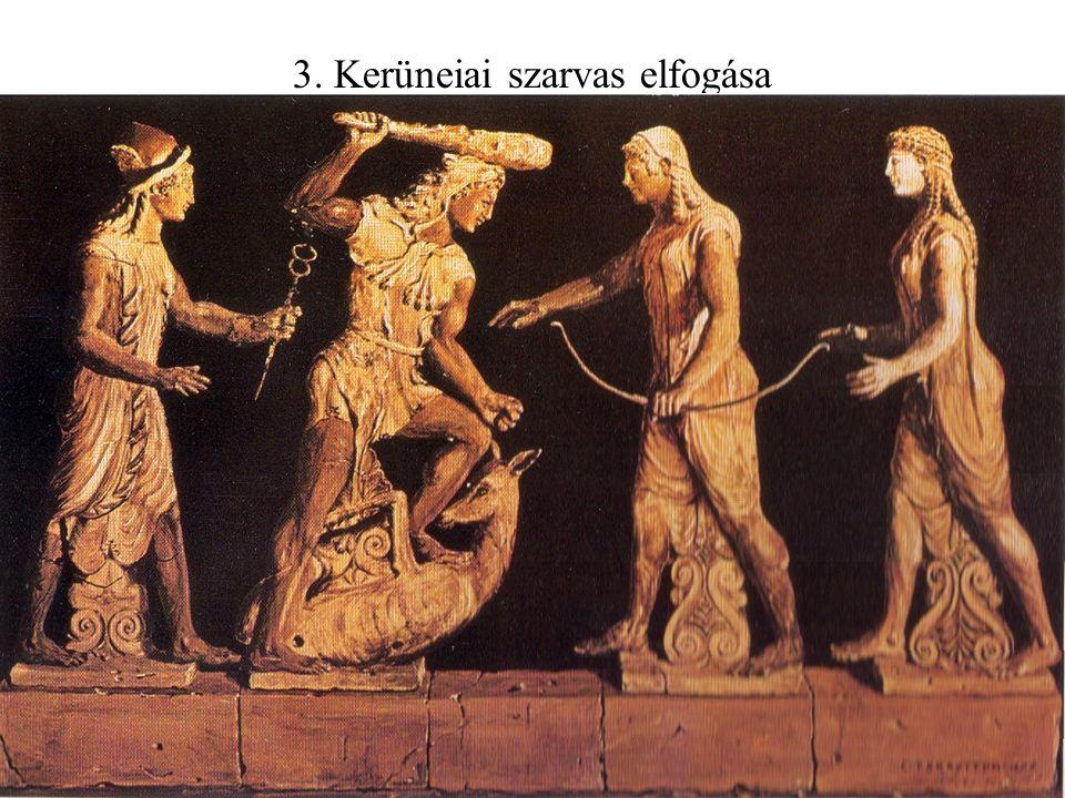 3. Kerüneiai szarvas elfogása