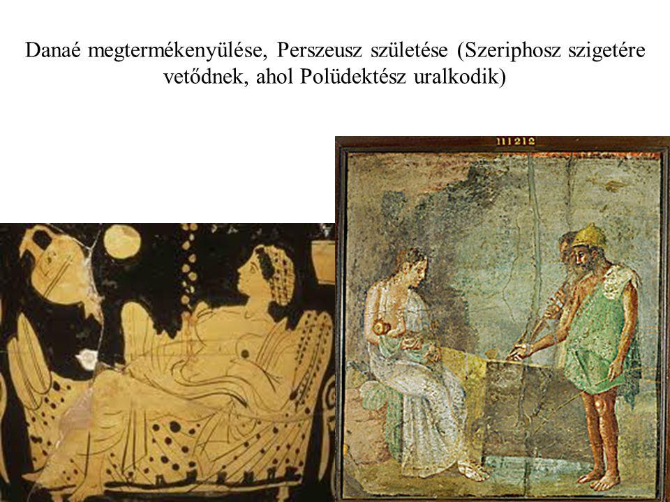 Perszeusz lefejezi a Gorgót