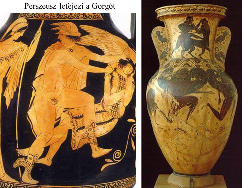 Perszeusz megszabadítja Andromedát, Képheusz és Kassziopeia lányát