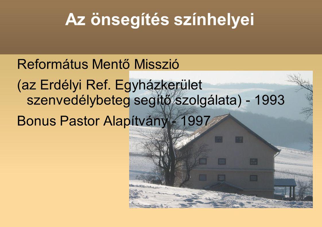 Az önsegítés színhelyei Református Mentő Misszió (az Erdélyi Ref.