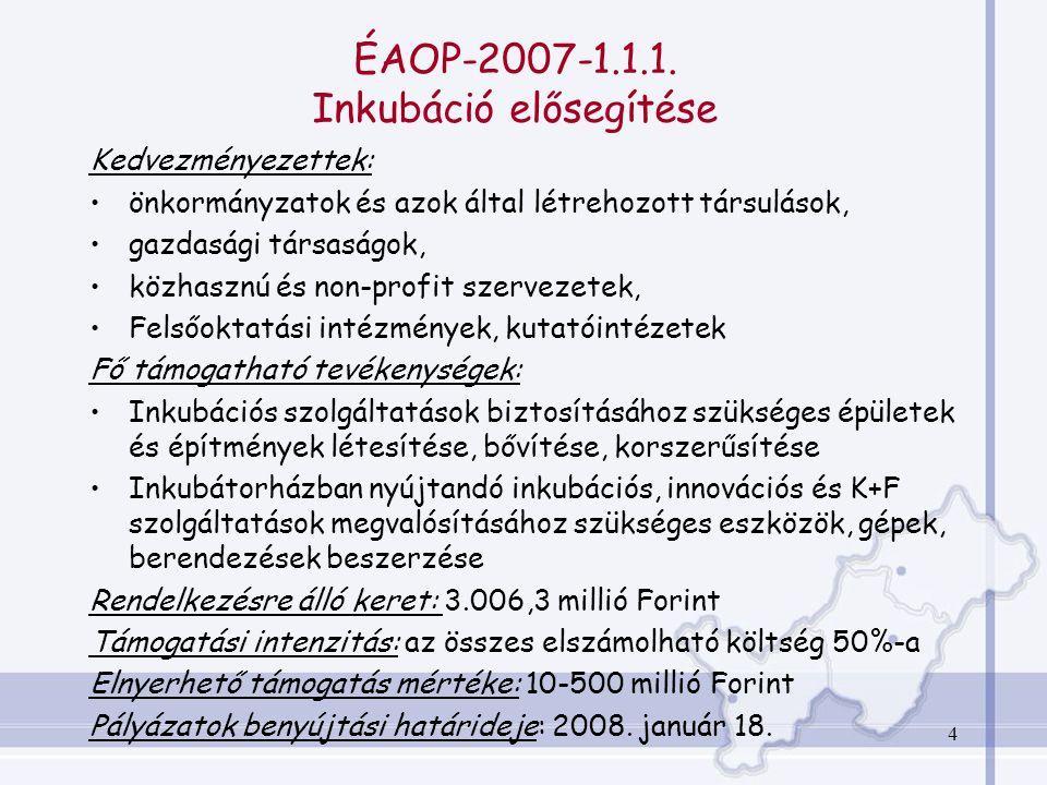 4 ÉAOP-2007-1.1.1.