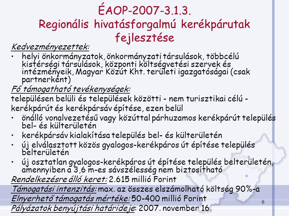 6 ÉAOP-2007-3.1.3.
