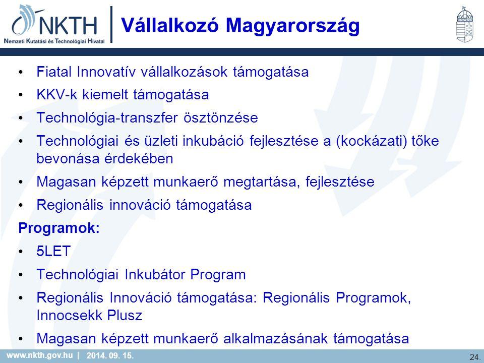 www.nkth.gov.hu | 24. 2014. 09. 15.