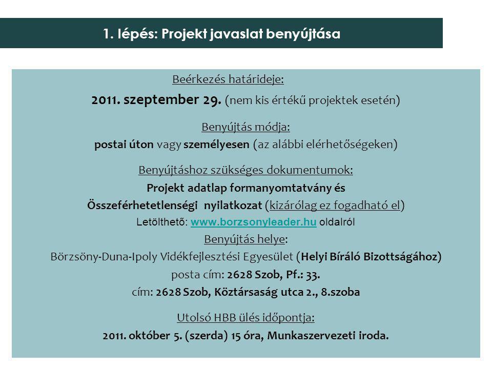 Közbiztonsági szolgálat fejlesztése – 1 019 612 ELSZÁMOLHATÓ KIADÁSOK a)építési munkák, új építmény.