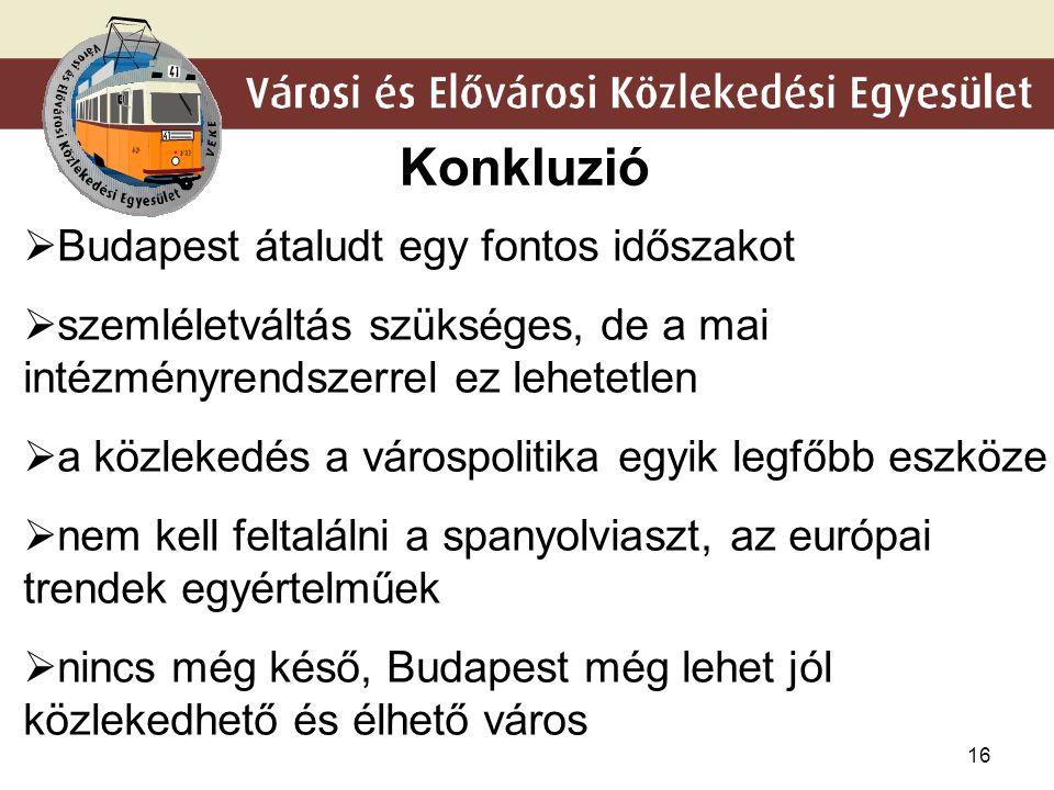 15 Közlekedés-orientált településfejlesztés Transport Oriented Development