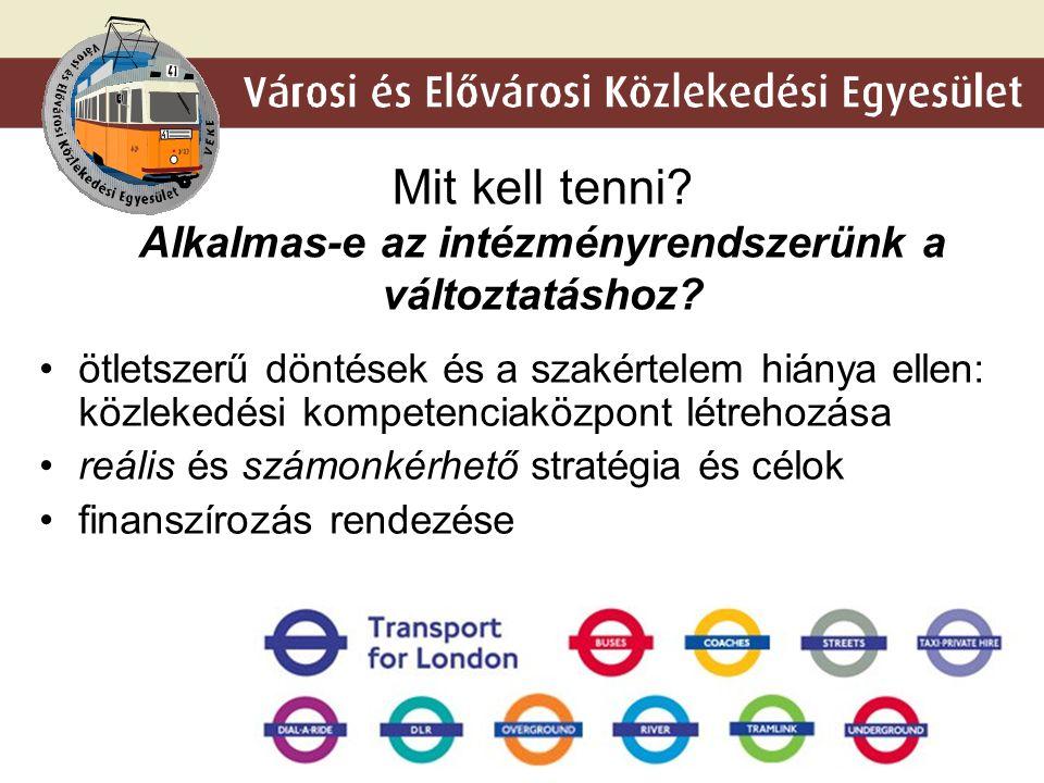 """6 A jelenlegi """"megoldás"""" – a 4-es metró Az agglomeráció kiszolgálatlansága"""