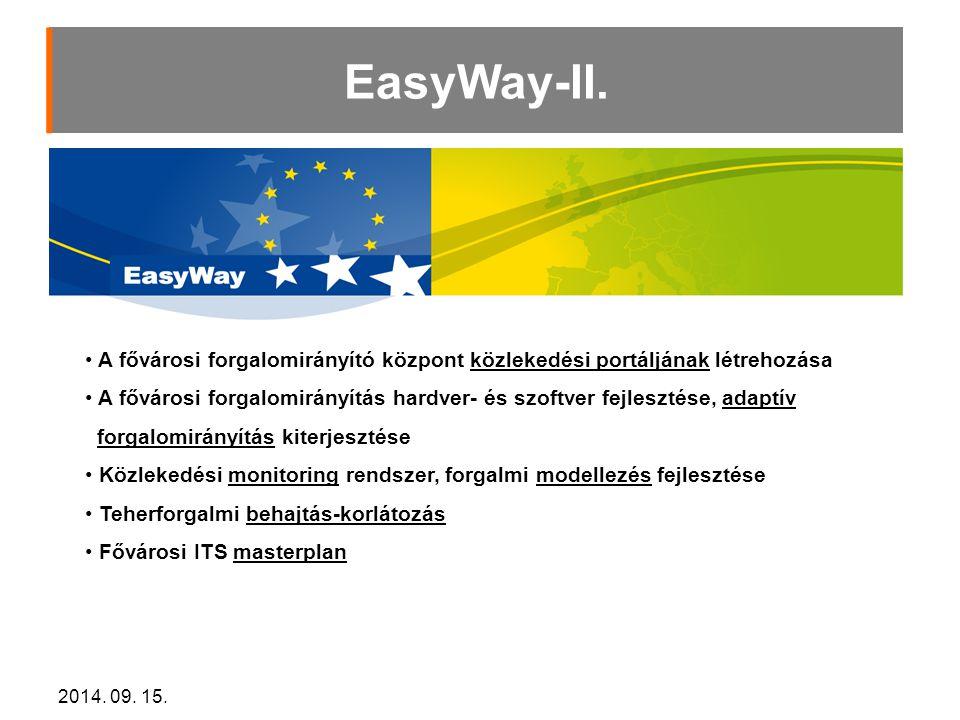 2014.09. 15. EasyWay-II.
