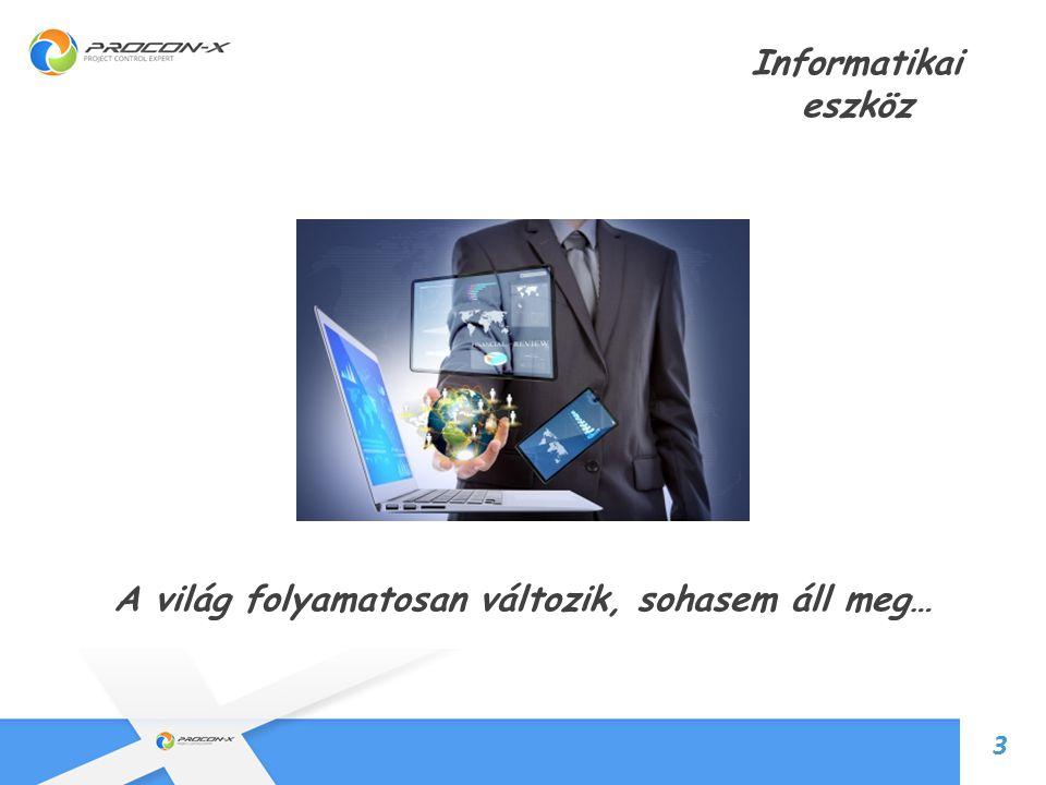 5 Informatikai eszköz 4 Valódi döntéstámogatás, Információ azonnal!