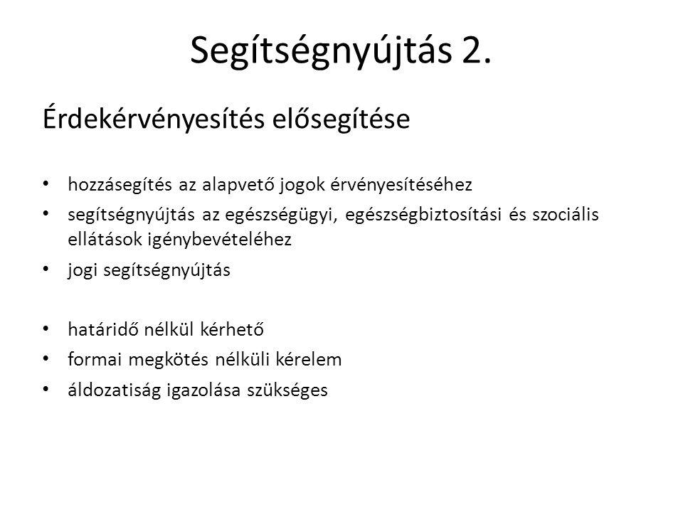 Segítségnyújtás 3.