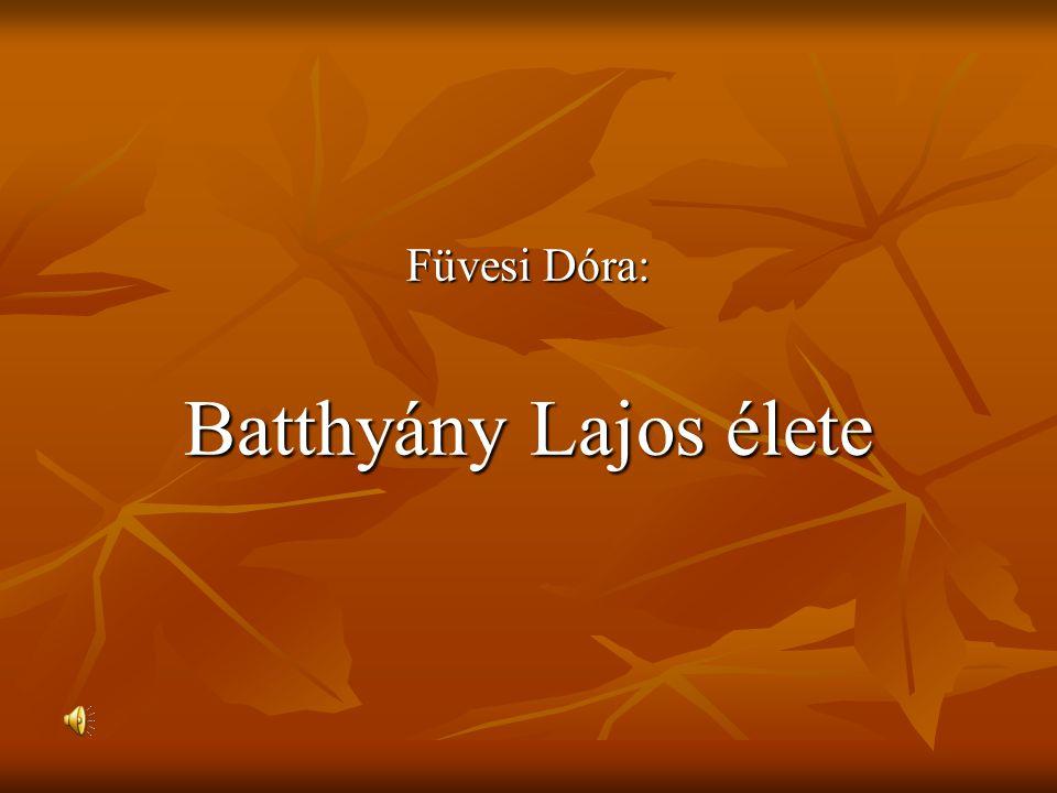 Batthyány Lajos Gróf Batthyány Lajos 200 éve született (1807.