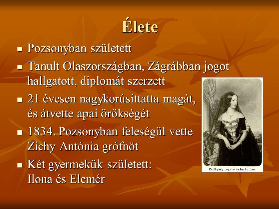 Szerepe a forradalomban 1848-ban az első magyar minisztérium megalakításával bízta meg a császár (V.