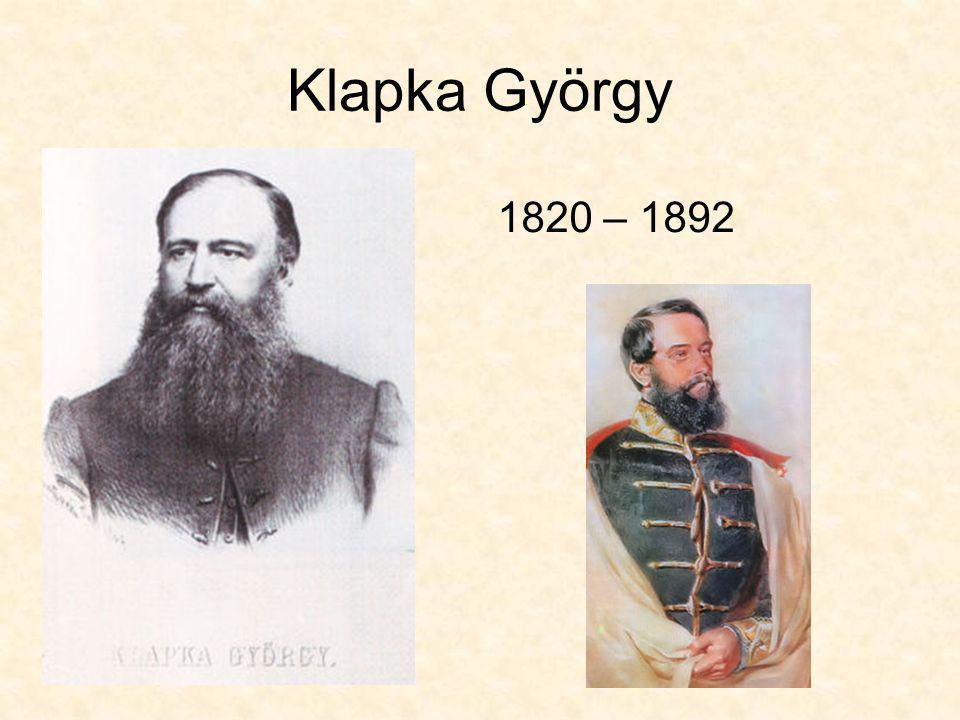 Klapka György 1820 – 1892