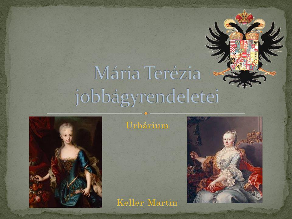 - Latin eredetű szó: - tágabb értelemben: gazdasági irat - szűkebb értelemben: Mária Terézia által 1767-ben kibocsátott, a jobbágytelek nagyságát és a jobbágyszolgáltatásokat szabályozó rendelet - A rendelet előzménye: a Rákóczi - szabadságharc leverését követő időszakban keresendő