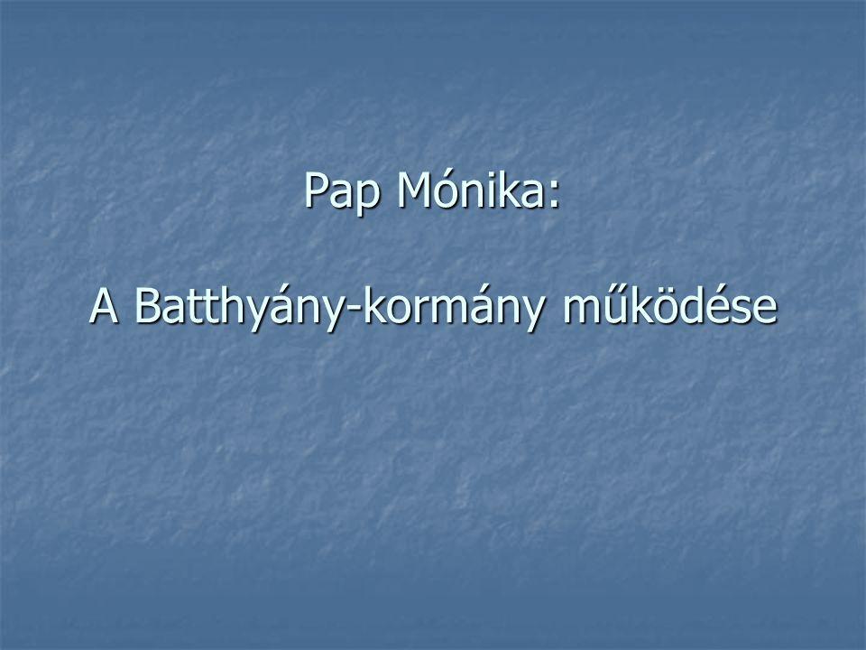 Batthyány Lajos emlékét őrzi Batthyány örökmécses: Budapest V. kerület