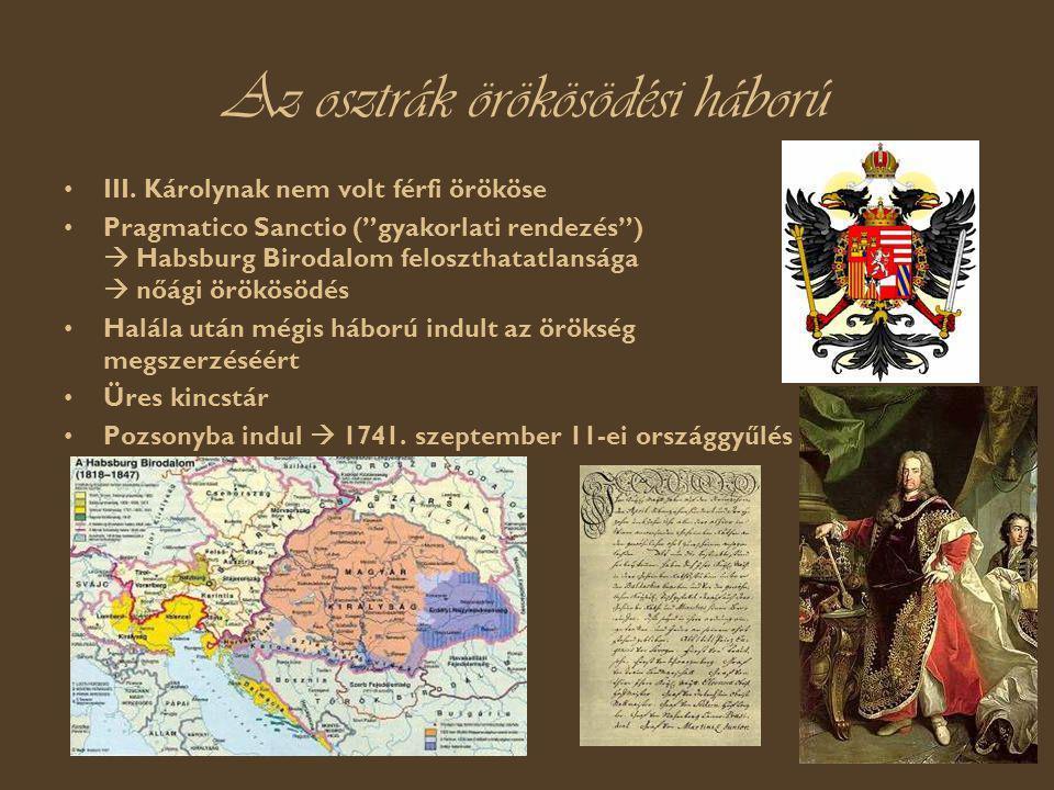 Az osztrák örökösödési háború III.