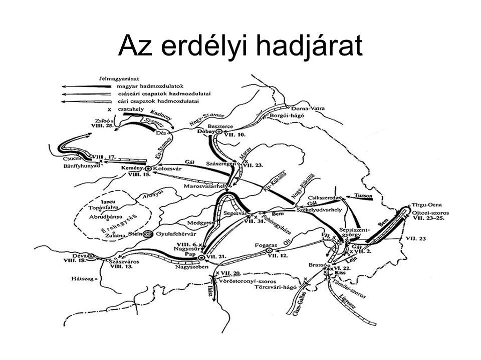 Az erdélyi hadjárat