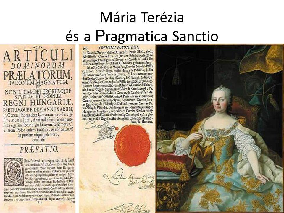 Mária Terézia és a P ragmatica Sanctio