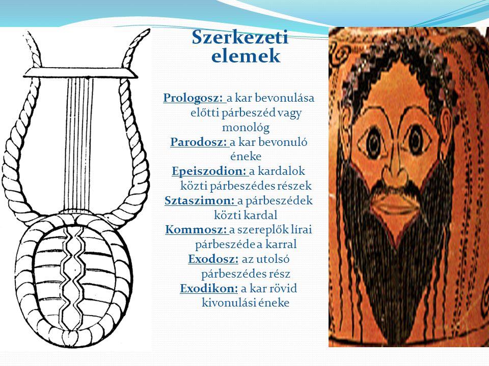 Az ókori görög dráma 1. A tragédia Eredete A tragédia a Dionüszosz tiszteletére énekelt kultikus dalból, a dithüramboszból alakult ki. Ezt egy kar éne