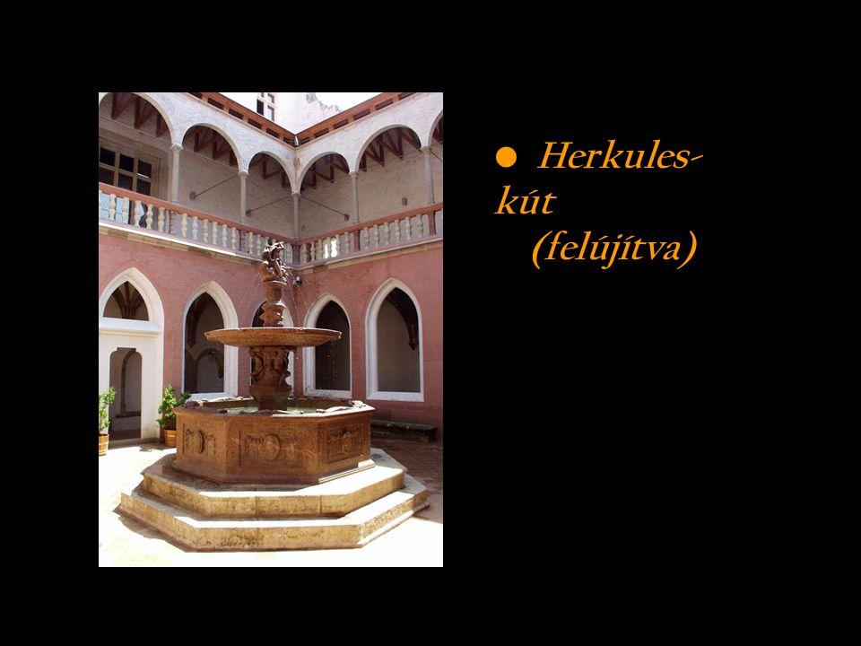Herkules- kút (felújítva)