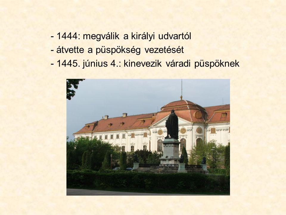 a király elől menekülő Janus Pannonius pécsi püspök 1472 márciusában a szlavóniai Medvevárban hunyt el