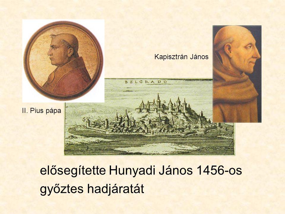 Hunyadi Lászlót 1457-ben vérpadra vitték