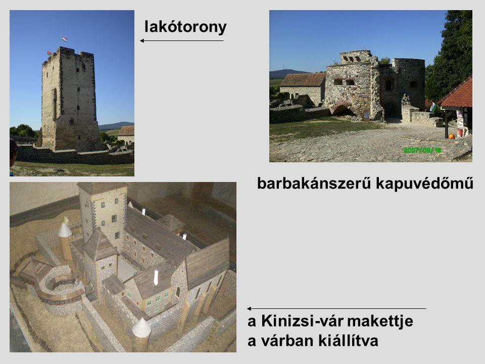 Pálos kolostor: védelem céljából is építtette, de később felrobbantották.
