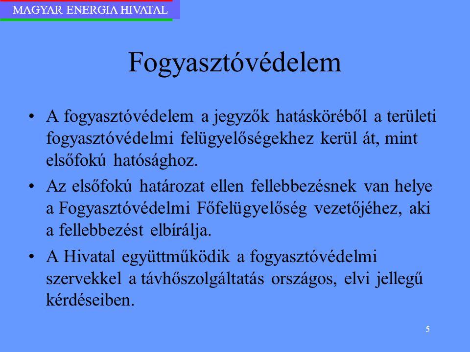 MAGYAR ENERGIA HIVATAL 16 A honlap tartalmi elemei II.