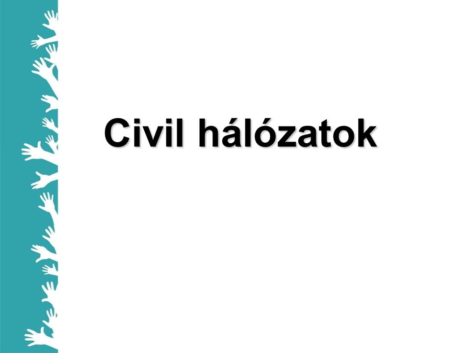 Civil hálózatok