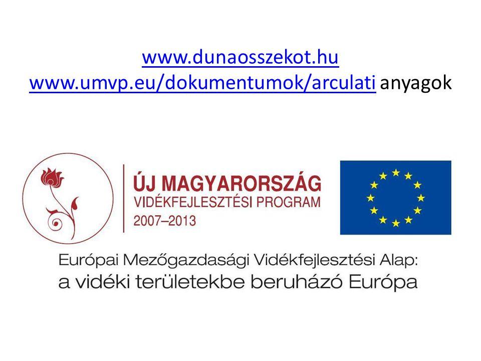 www.dunaosszekot.hu www.umvp.eu/dokumentumok/arculatiwww.dunaosszekot.hu www.umvp.eu/dokumentumok/arculati anyagok